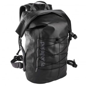 Patagonia Stormfront Roll Top Pack 45L BLACK