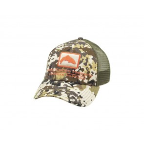 SIMMS Trout Icon Trucker / River Camo