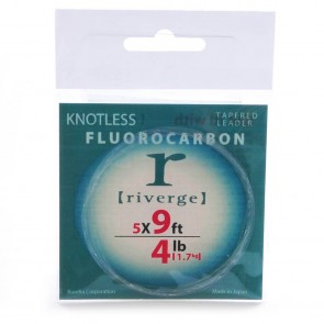 Riverge Fluorocarbon Leaders 9""