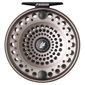 SAGE Spey Stealth/Silver fly reel