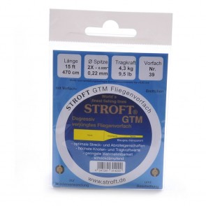 Stroft GTM Tapered 15ft leaders