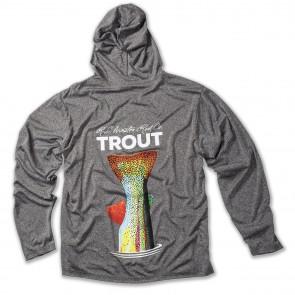 WINSTON TROUT TECH Hooded Fishing Shirts / Gray