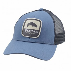 SIMMS Trout Patch Trucker / Blue Stream