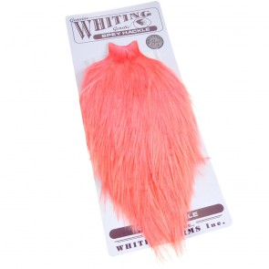Whiting Spey Bronce Cape Dyed Salmon