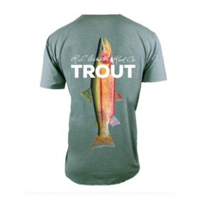 Winston TROUT TECH T-Shirts - Moss Green