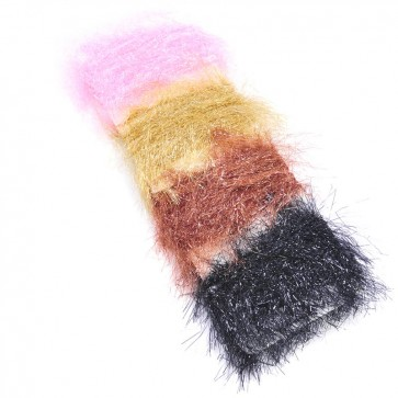 Straggle Chenille Assorted Card 30mm