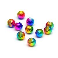 Tungsten Beads slotted rainbow