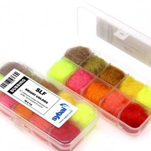 Fine Alpaca Dubbing, Box, Bright Colors