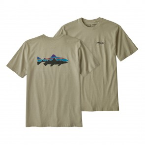 M's Fitz Roy Trout Responsibili-Tee / Weathered Stone