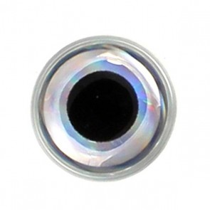 3D Epoxy Eyes Metallic Silver