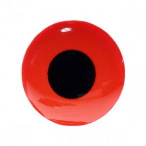 3D Epoxy Eyes Fluo röd