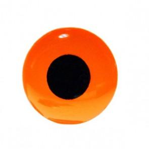 3D Epoxy Eyes Fluo Orange
