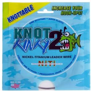 Knot 2 Kinky Nickel-Titanium Leader Wire