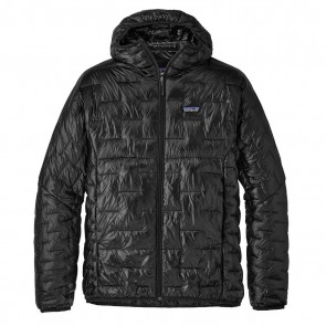 Patagonia Men's Micro Puff Hoody / black