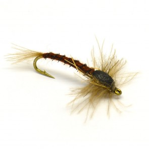 ML Rust Brown Mayfly - EMERGER