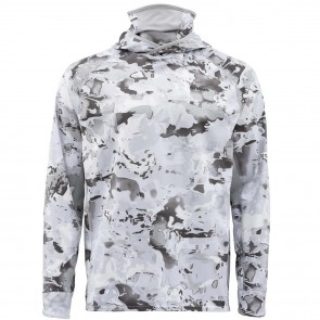 SIMMS Sflex UltraCool Armor Cloud Camo Grey