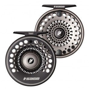 SAGE TROUT SPEY REEL / Stealth-Silver
