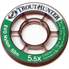 TROUTHUNTER Nylon EVO Tippet 50m