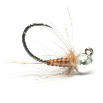 Quill Jig Nymph Rust