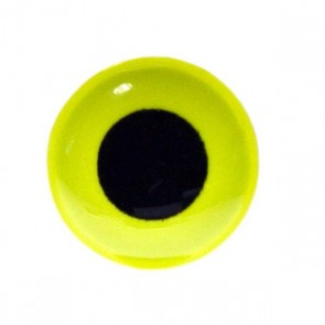 3D Epoxy Eyes Fluo Yellow