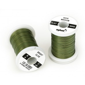 Sybai Flat Color Wire, Medium Wide