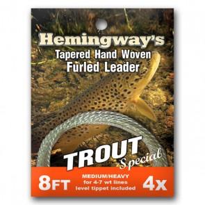 Hemingways Trout Special tafsar