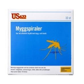 US 622 Myggspiral