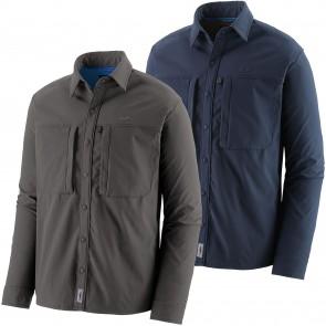 Patagonia Men's Long-Sleeved Snap-Dry Shirt