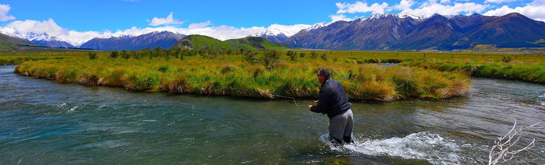 Flugfiske på Nya Zeeland
